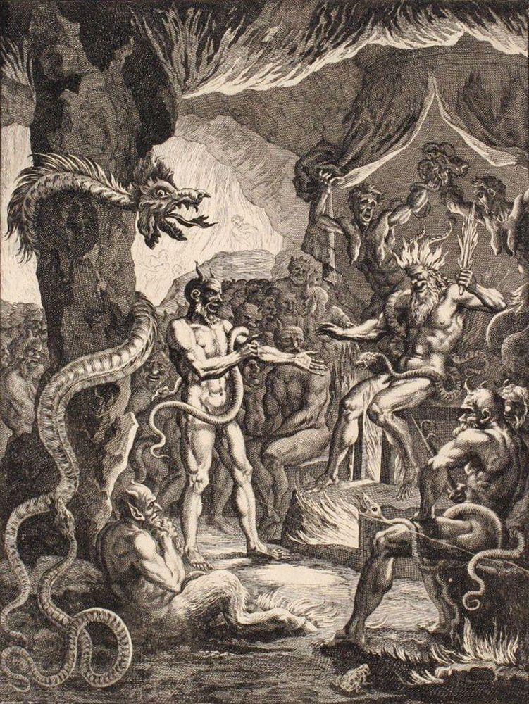 Apprets de Lucifer et de l\'Enfer - Francois Chauveau