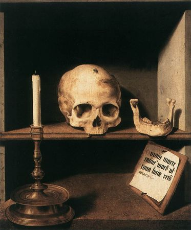 Barthel Bruyn the Elder, Vanitas Still-Life
