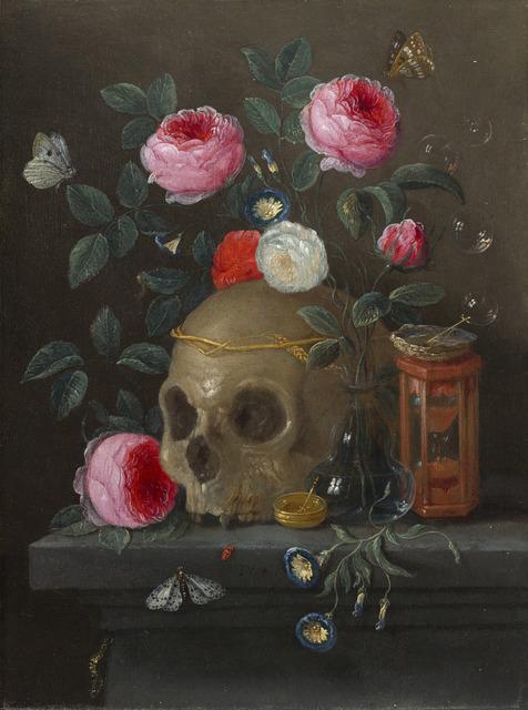 Jan van Kessel II | Vanitas Still Life (ca. 1665 1670)