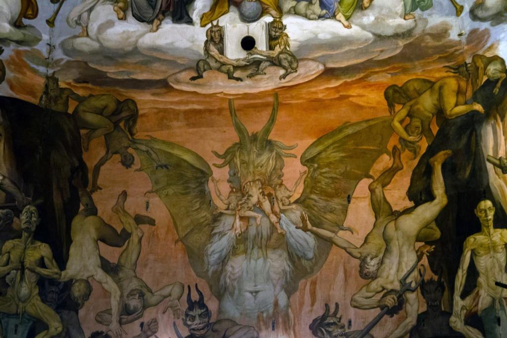 Le Jugement Dernier- Giorgio Vasari Frederico Zuccaro
