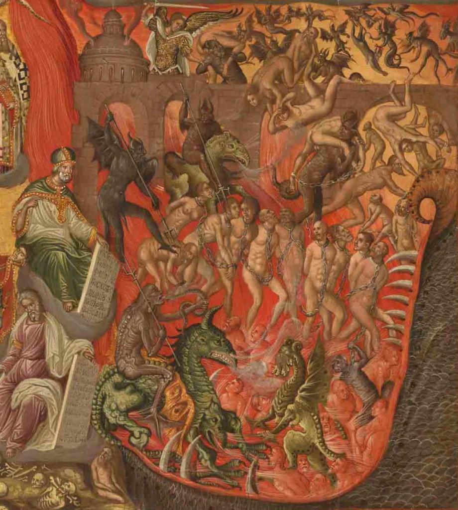 Parousie - Georgios Klontzas fin du XVIe siècle