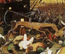 Détail du Triomphe de la Mort par Brueghel