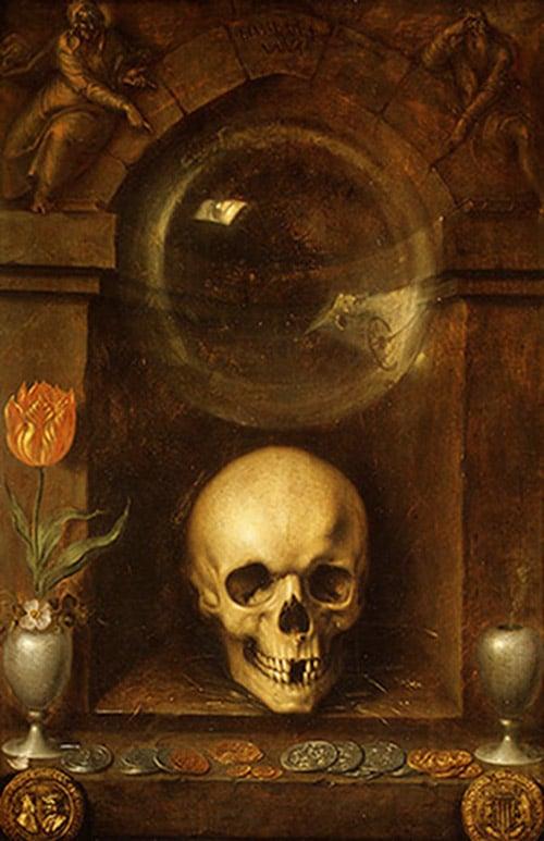 Jacques de gheyn, 1603 - vanitas still life