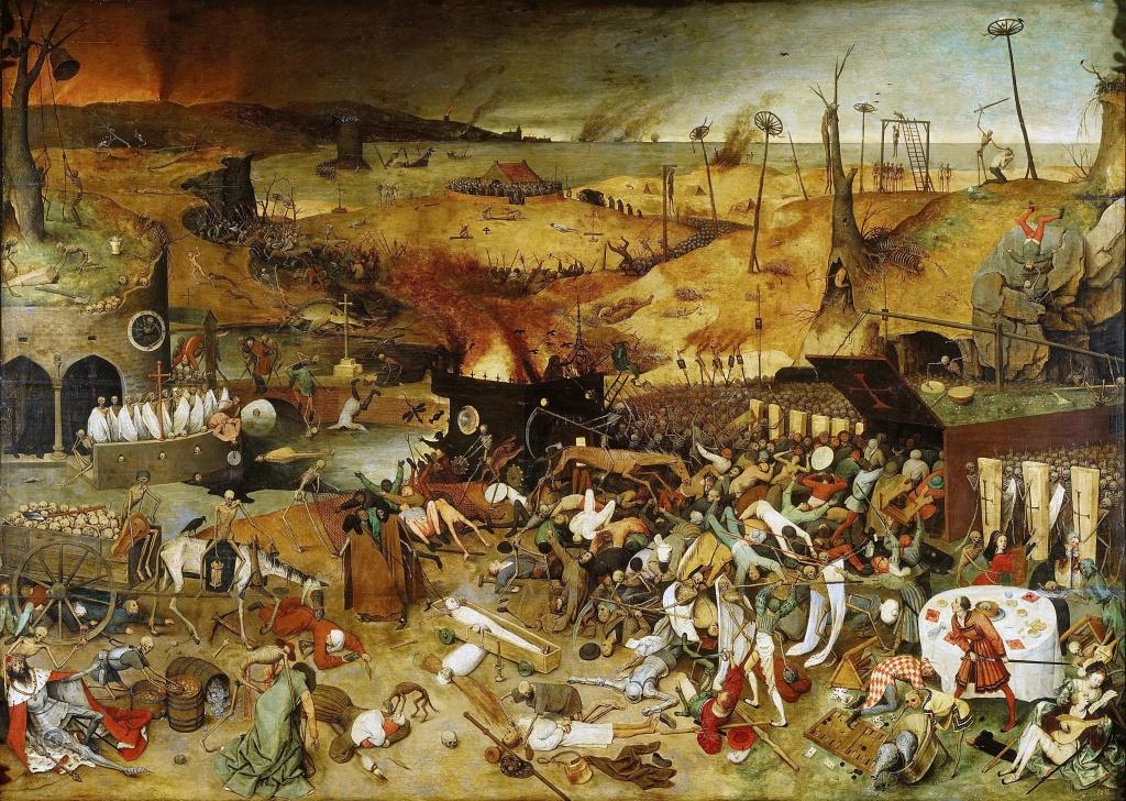 Le Triomphe de la Mort par Pieter Brueghel l'Ancien