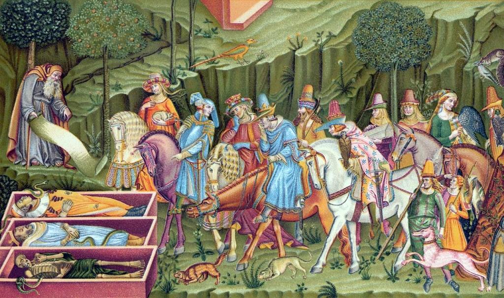 Le Triomphe de la Mort au Camposanto de Pise réalisé en 1365